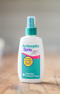 Safe and Sound Health's Antiseptic Wound and Cut's Spray