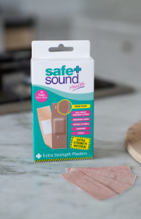 Extra Strong Wound Plasters by Safe and Sound Health