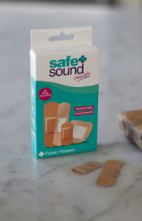 Safe and Sound Health's Fabric Wound Plasters
