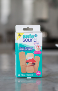 Safe and Sound Health's flexible wound plasters