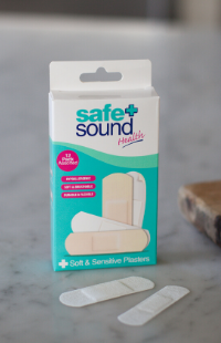 Soft and gentle plasters for sensitive skin by Safe and Sound Health