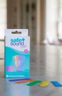 Fun washproof plasters for children by Safe and Sound Health