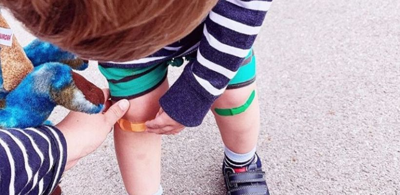 Safe and Sound Health's children's plaster come in 5 fun and bright colours