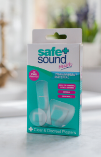 Safe and Sound Health's Clear and Discreet Plasters