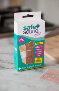 Safe and Sound Health's Extra Strong Wound Plasters
