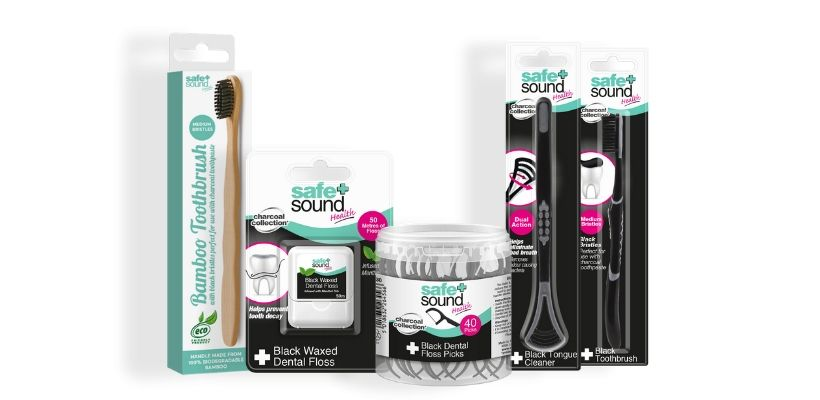 Safe and Sound Health's Charcoal Dental Range