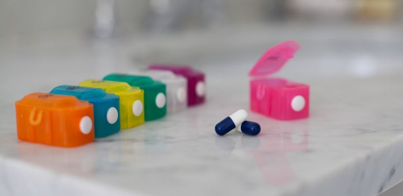 Pillboxes can help you remember to take your medication