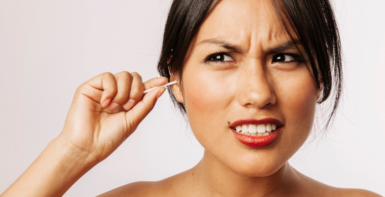 You shouldn't use cotton buds to remove earwax, find out how to remove earwax safely