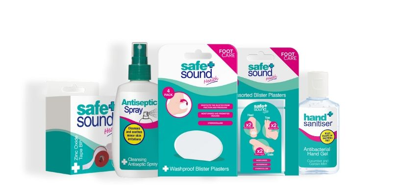 How to treat and prevent blisters with Safe and Sound Health's range of wound care products