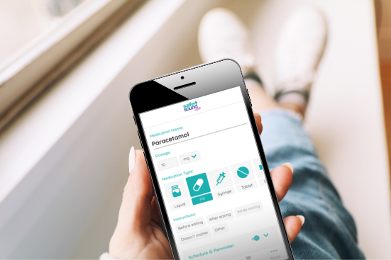 Safe and Sound Health's Pill Reminder App takes the stress out of managing your medication