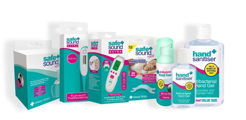 Safe and Sound Health has a range of products for helping you get through the winter cold and flu season
