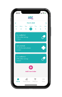 Safe and Sound Health's Pill Reminder App