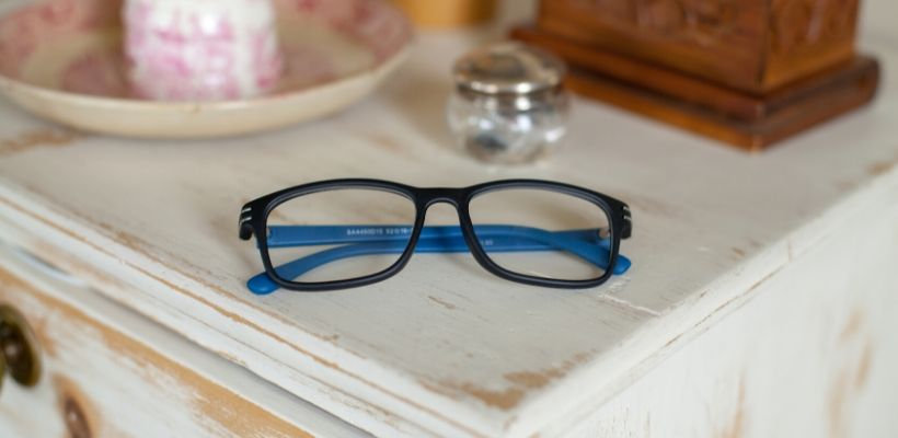 Reading glasses can be purchased without a prescription and help blurred vision caused by presbyopia