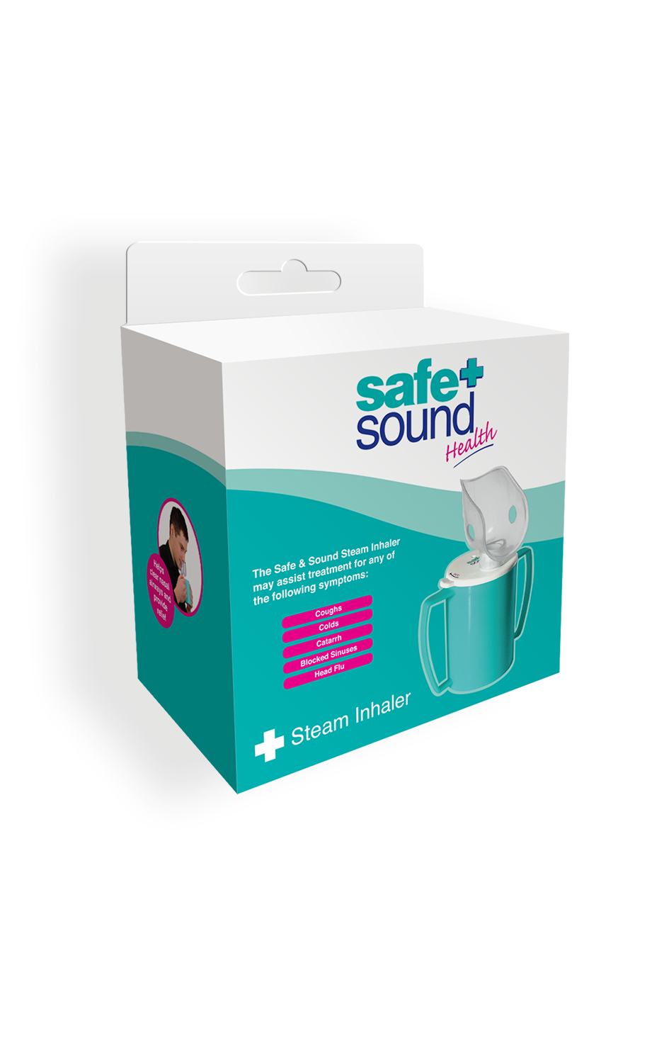 Safe and Sound Health Steam Inhaler