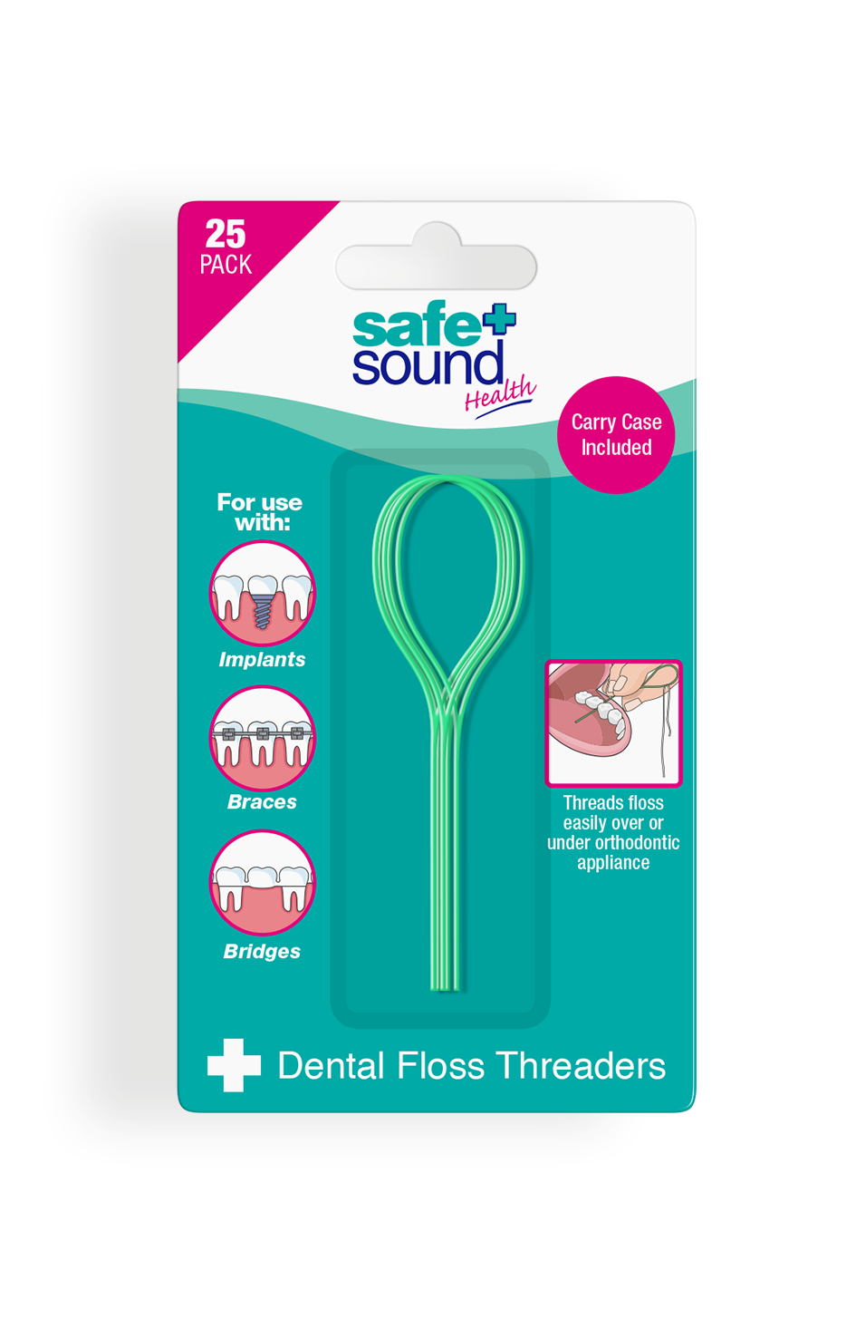 Safe and Sound Health Floss Threader