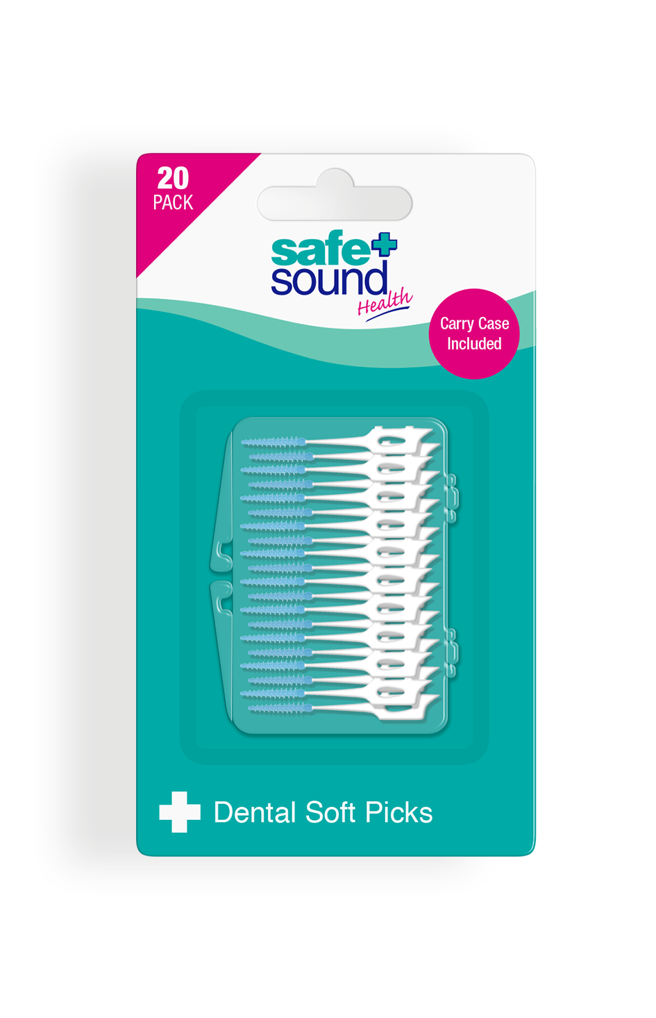 Safe and Sound Health Soft Dental Picks