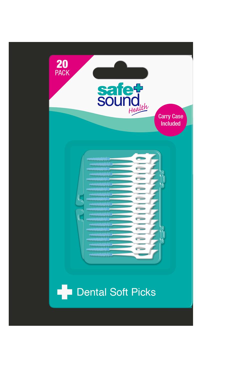 Safe and Sound Health Soft Dental Picks