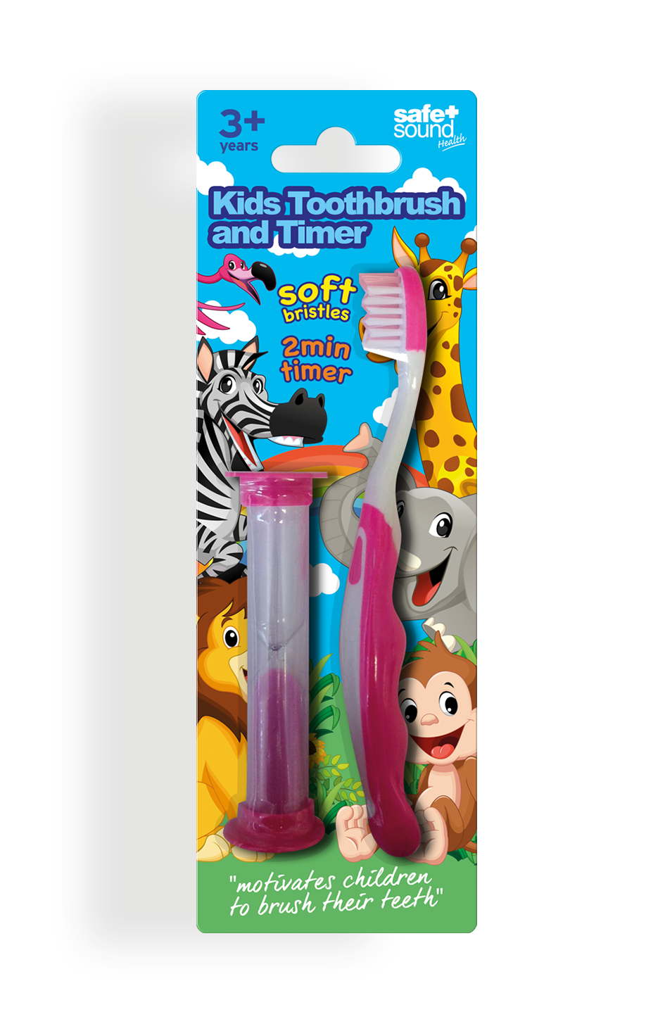 Safe and Sound Health Kid's Toothbrush with Timer