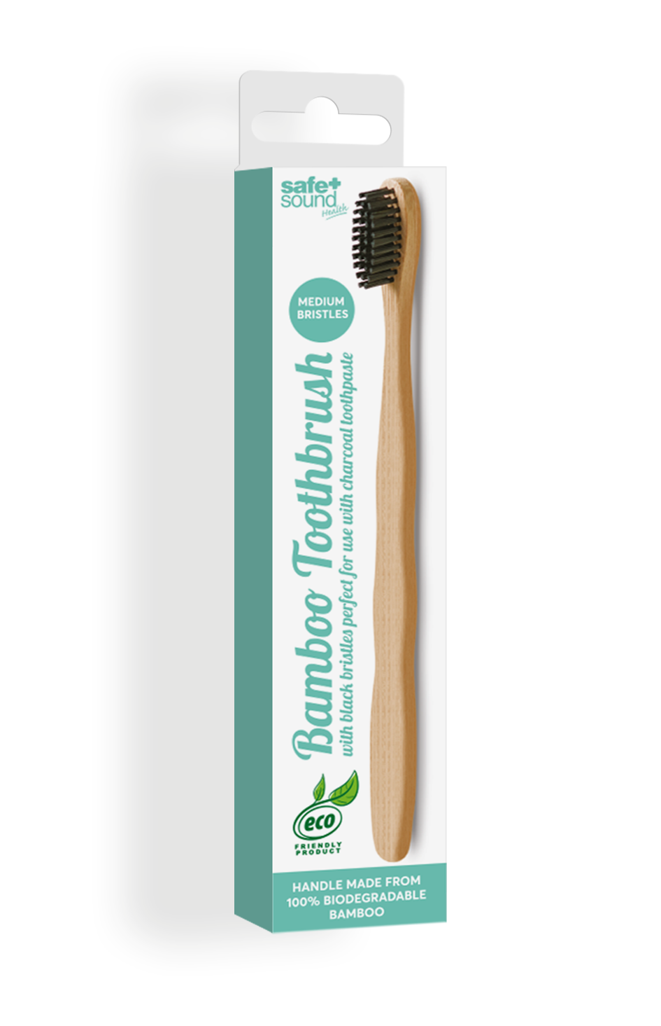 Safe and Sound Health Bamboo Toothbrush