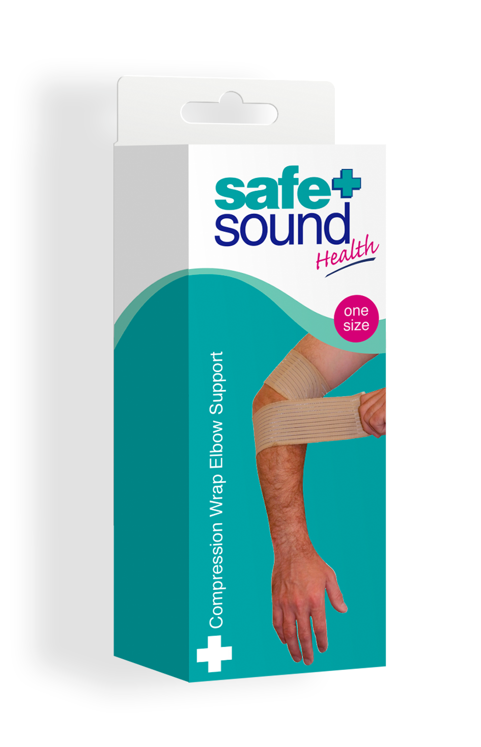 Safe and Sound Health's Compression Elbow Support