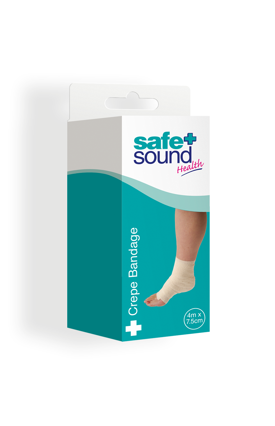 Safe and Sound Health Elastic Crepe Bandage