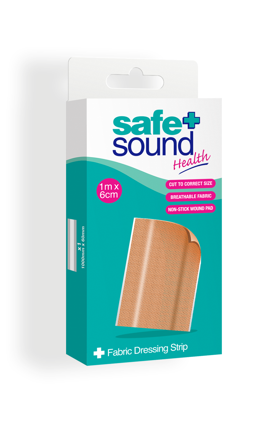 Safe and Sound Health Fabric Dressing Strip