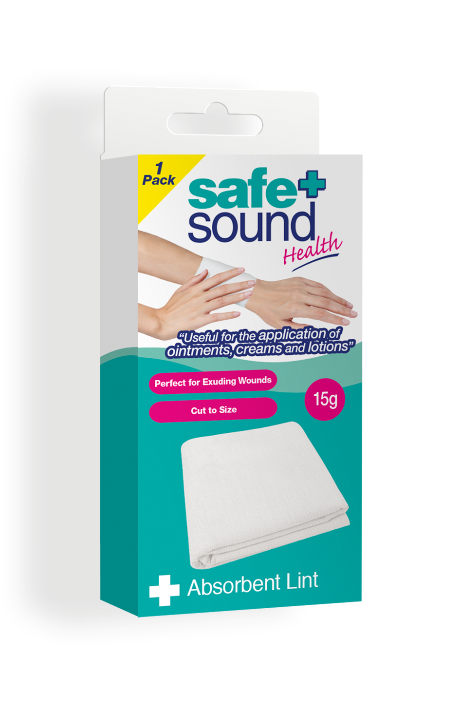 Safe and Sound Health 15g Absorbent Lint
