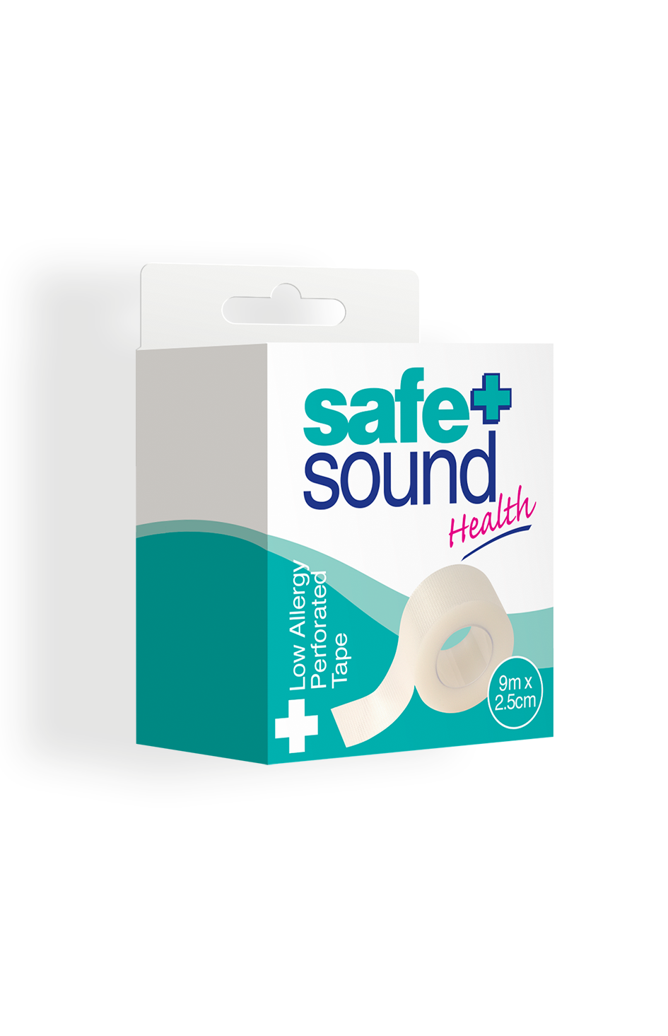 Safe and Sound Health Low Allergy Microporous Tape