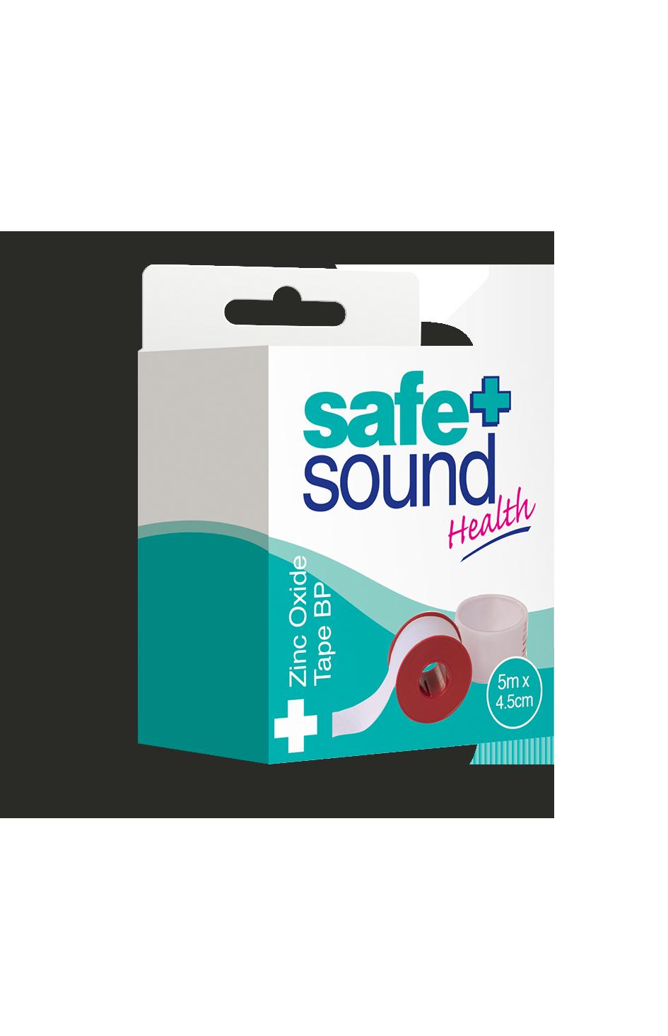 Safe and Sound Health Zinc Oxide Tape