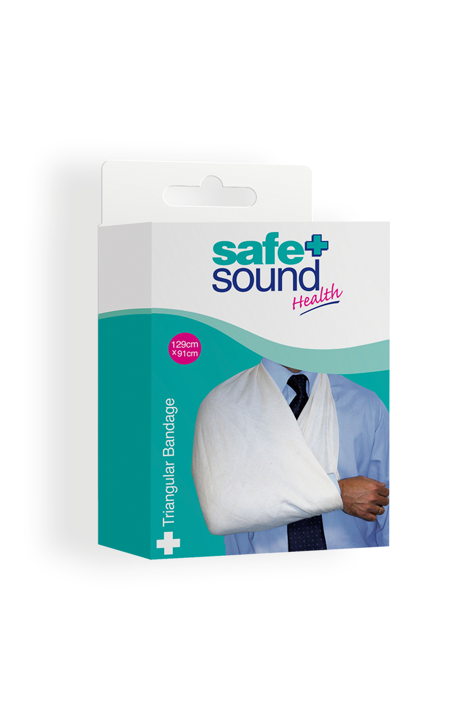 Safe and Sound Health Triangular Bandage and Arm Sling