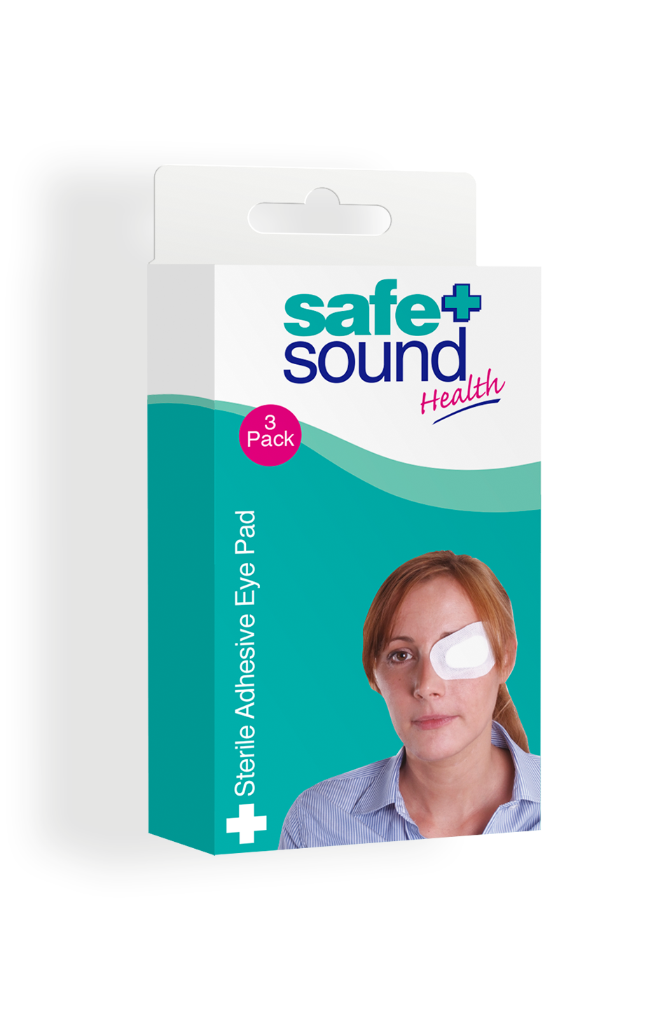 Safe and Sound Health Adhesive Eye Pad