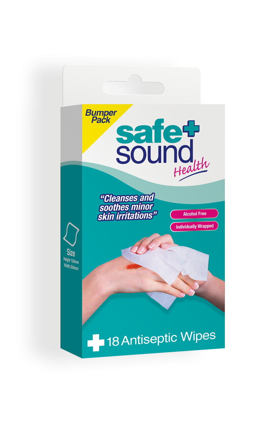 Safe and Sound Health Antiseptic Wipes Bumper Pack