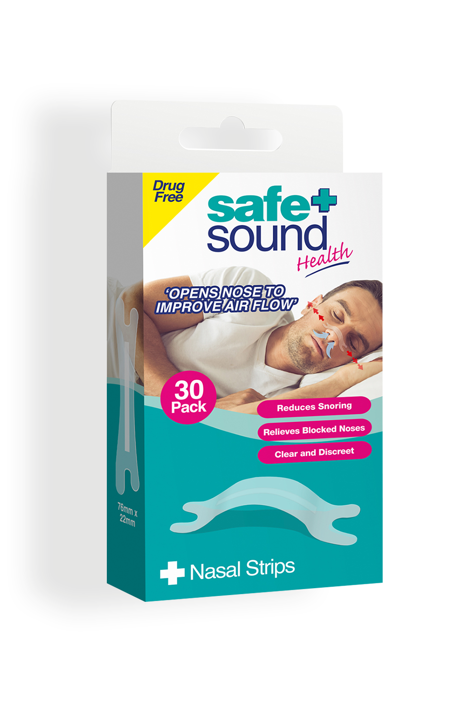 Safe and Sound Health Nasal Strips