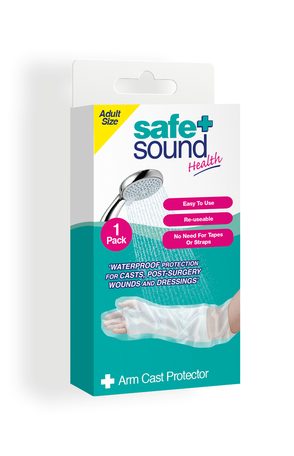 Safe and Sound Health Waterproof Arm Cast Protector