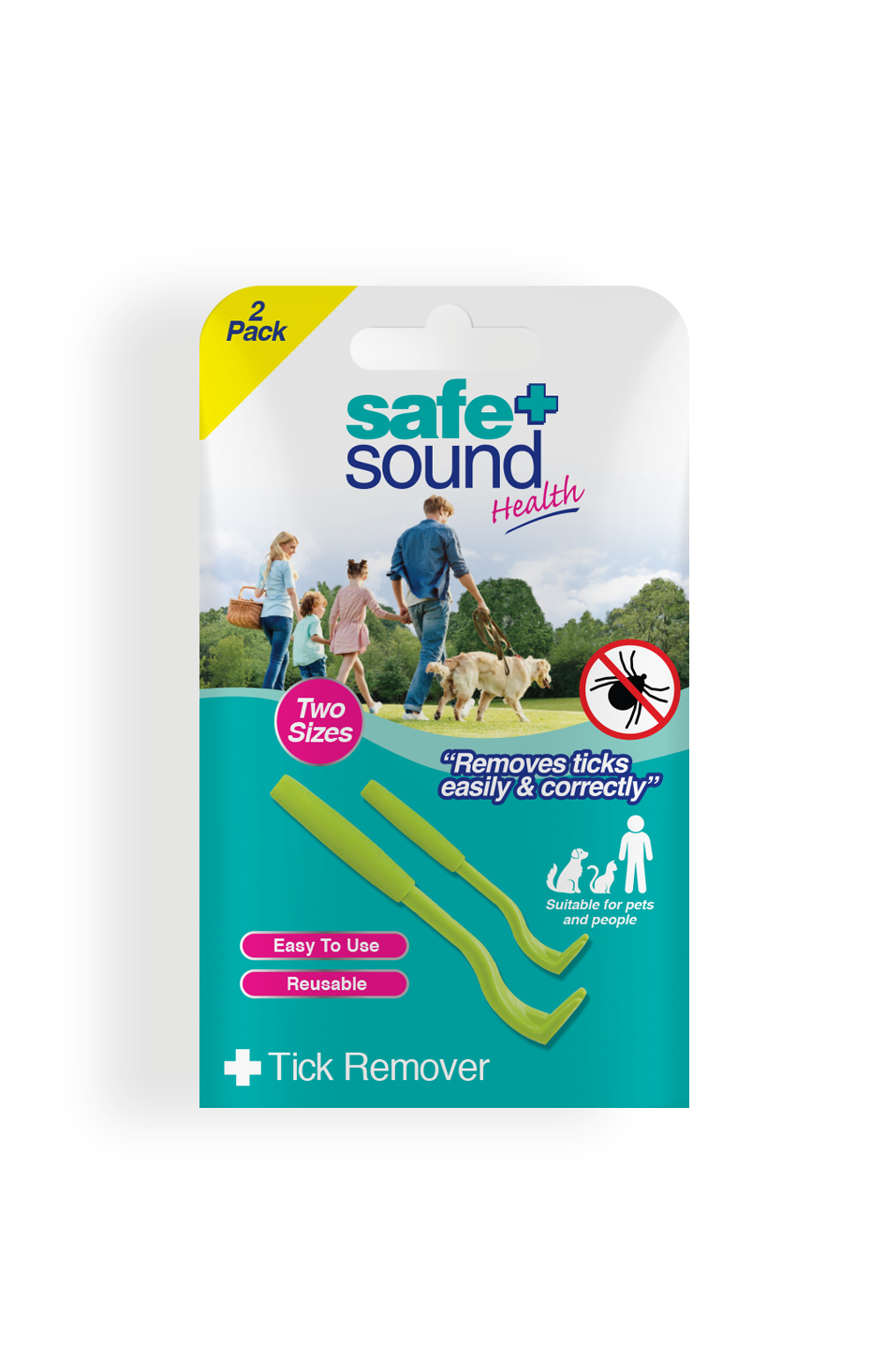 Safe and Sound Health Tick Removal Tool