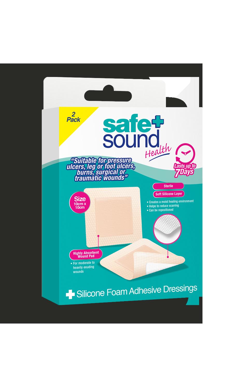 Safe and Sound Health Silcone Foam Dressing