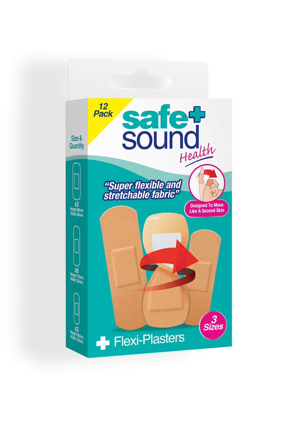 Safe and Sound Health Flexi-Plasters