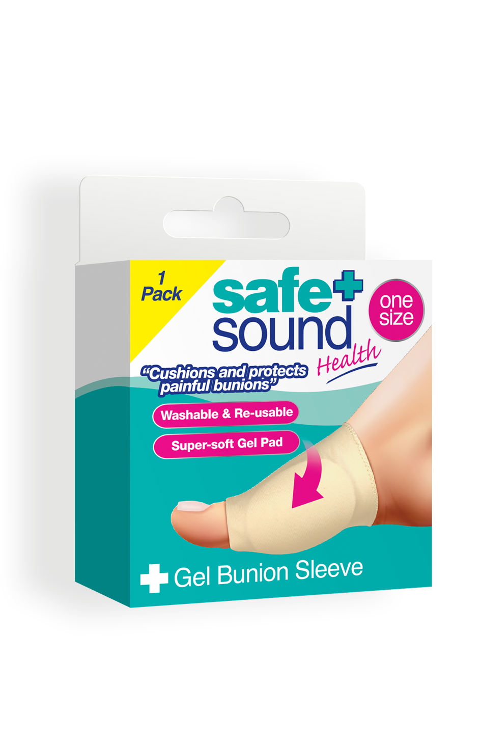 Safe and Sound Gel Bunion Sleeve