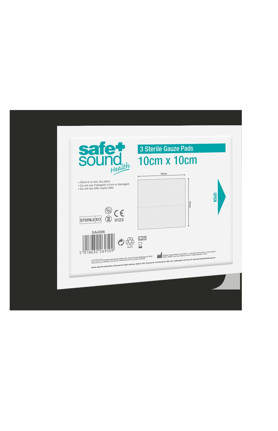 Safe and Sound Health Gauze Pads 10x10
