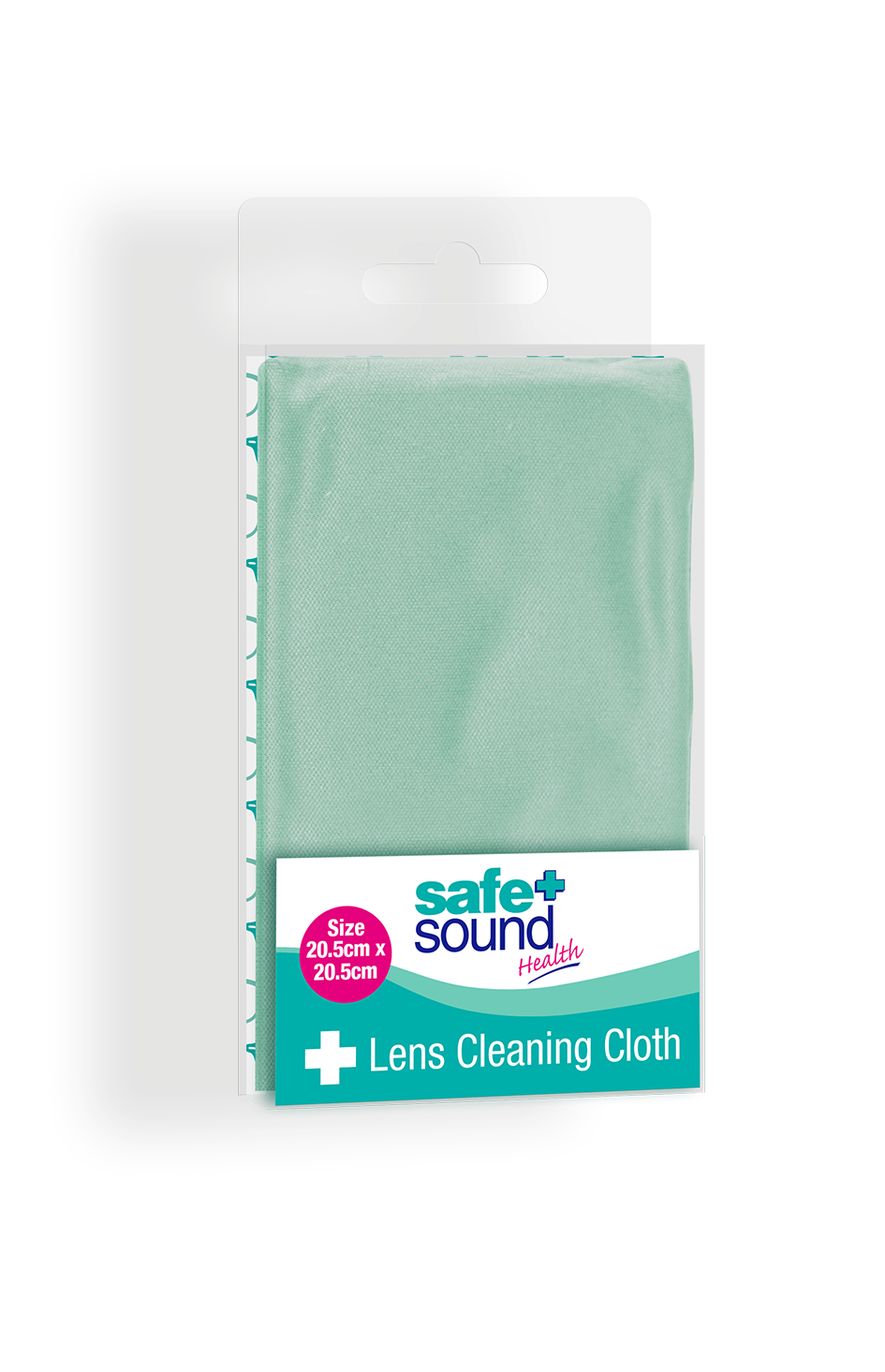 Safe and Sound Health Lens and Glasses Cleaning Microfiber Cloth