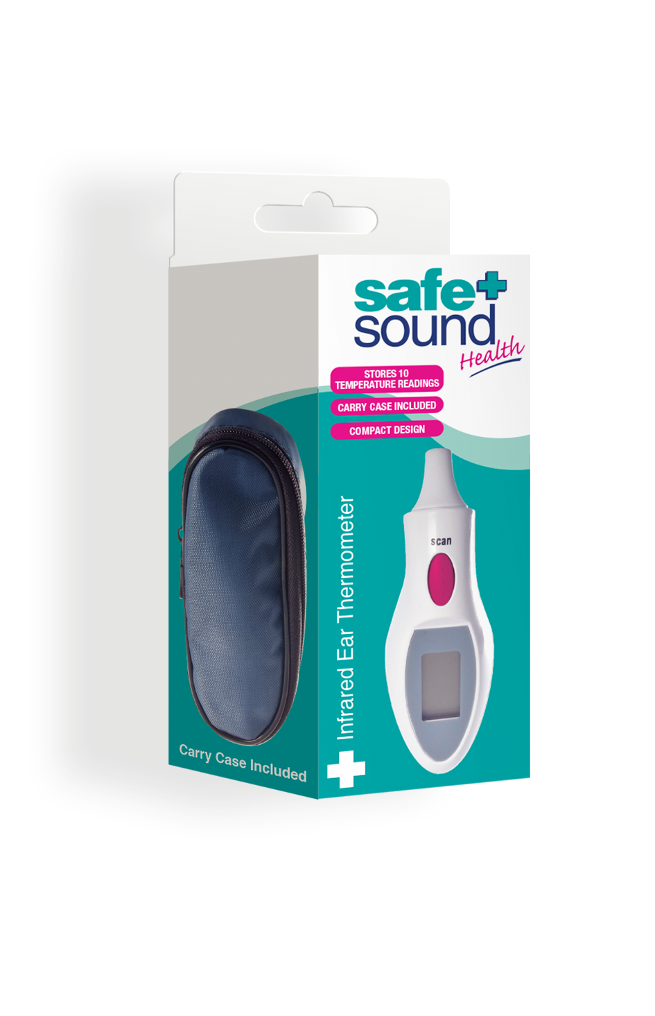 Safe and Sound Health Cover-Free Ear Thermometer