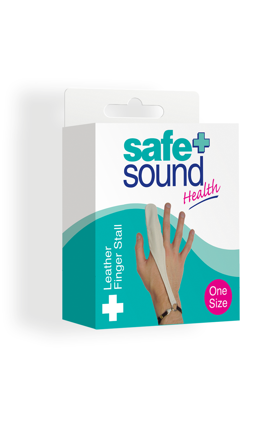Safe and Sound Health Leather Finger Stall