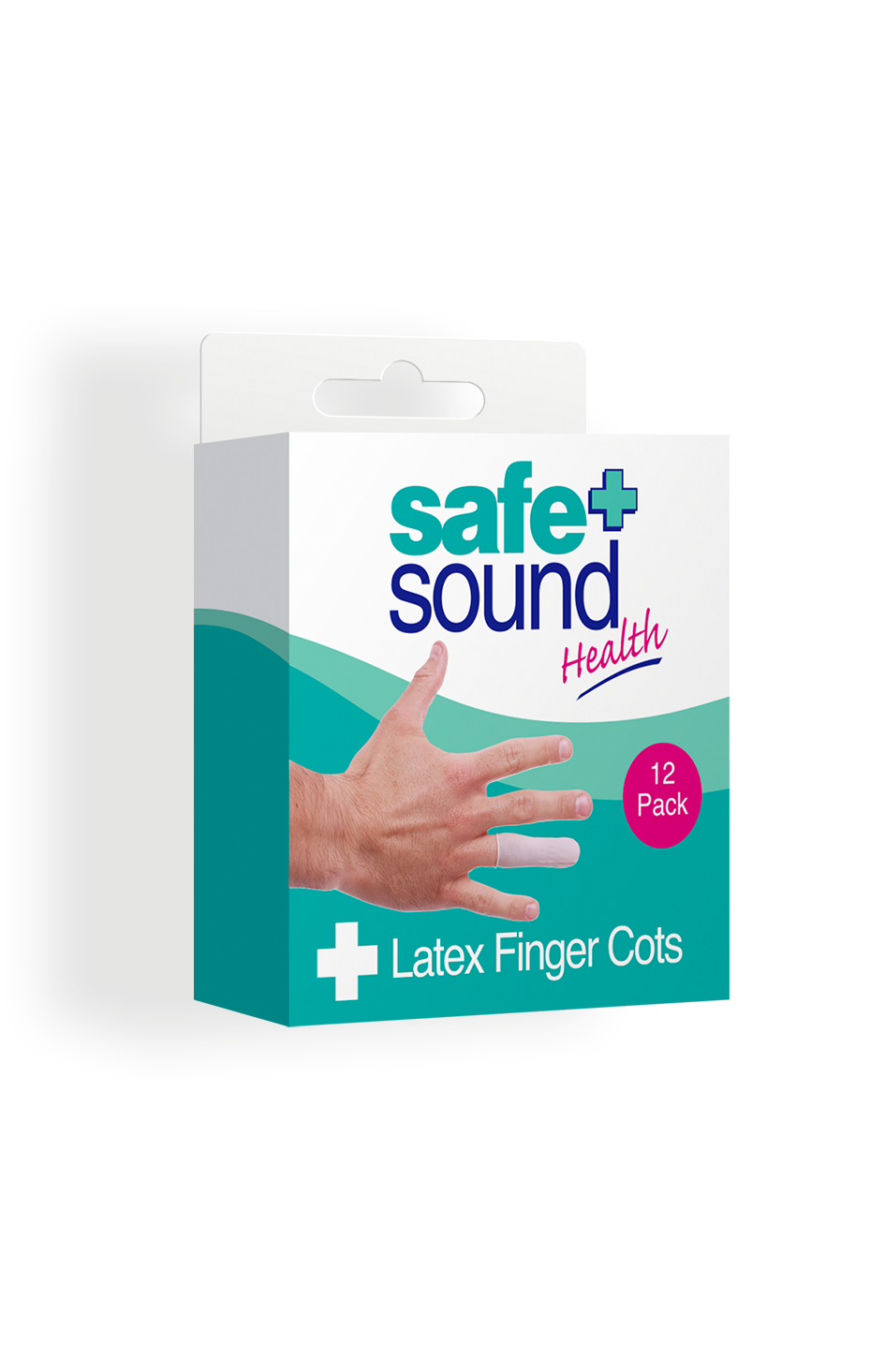 Safe and Sound Health Latex finger Cots