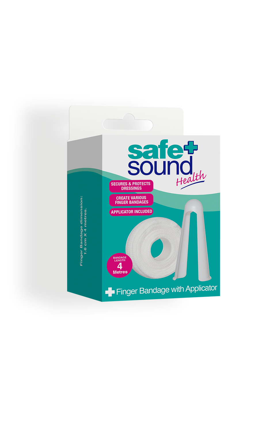 Safe and Sound Health Finger Bandage and Applicator