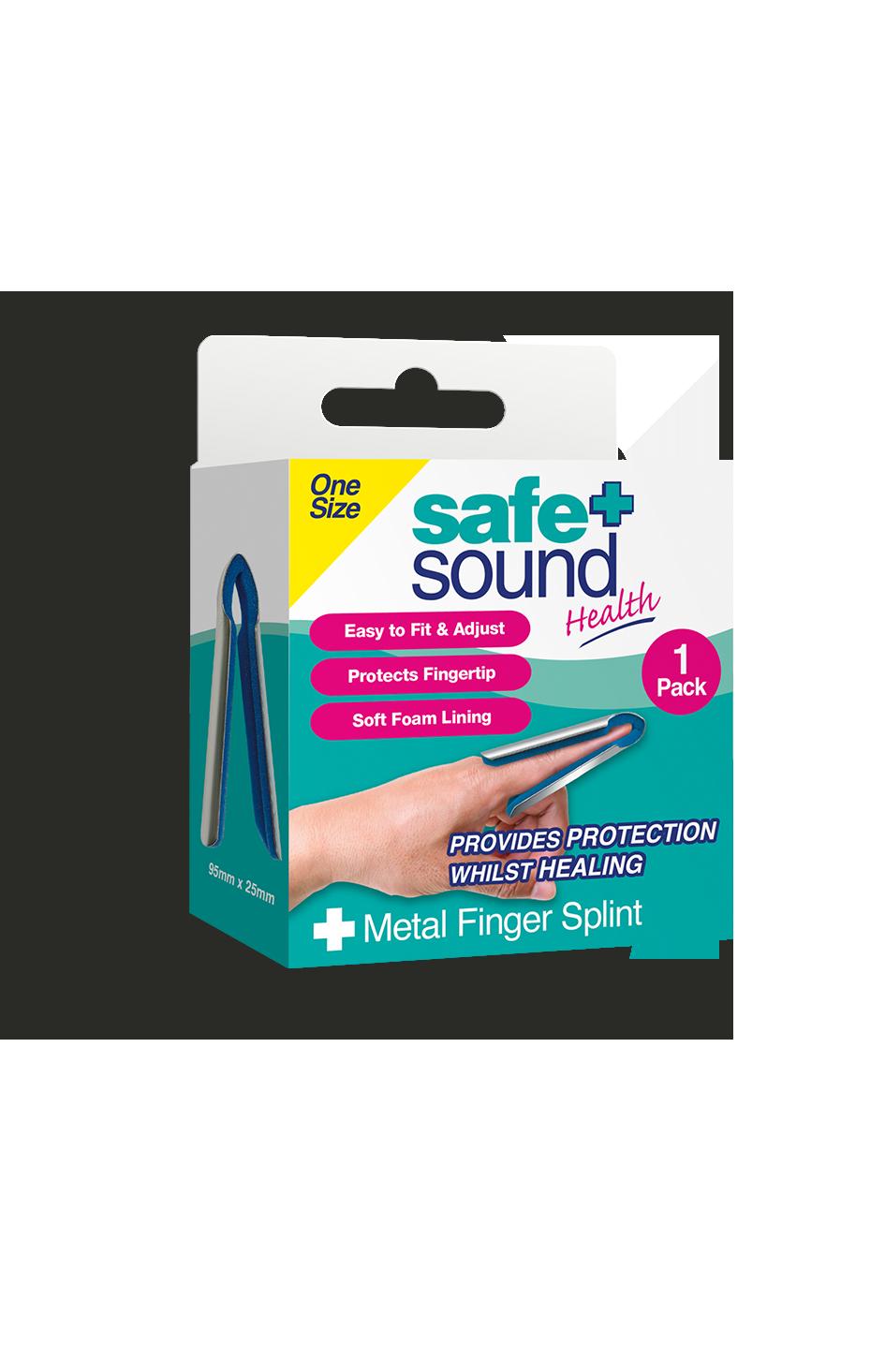 Safe and Sound Health Metal Finger Splint