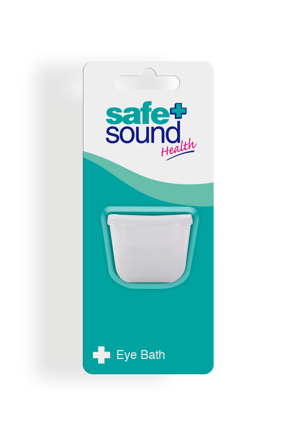 Safe and Sound Health Plastic Eye Bath