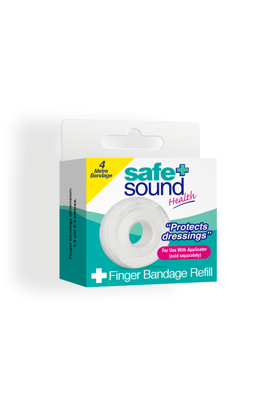 Safe and Sound Health Finger Bandage 4M