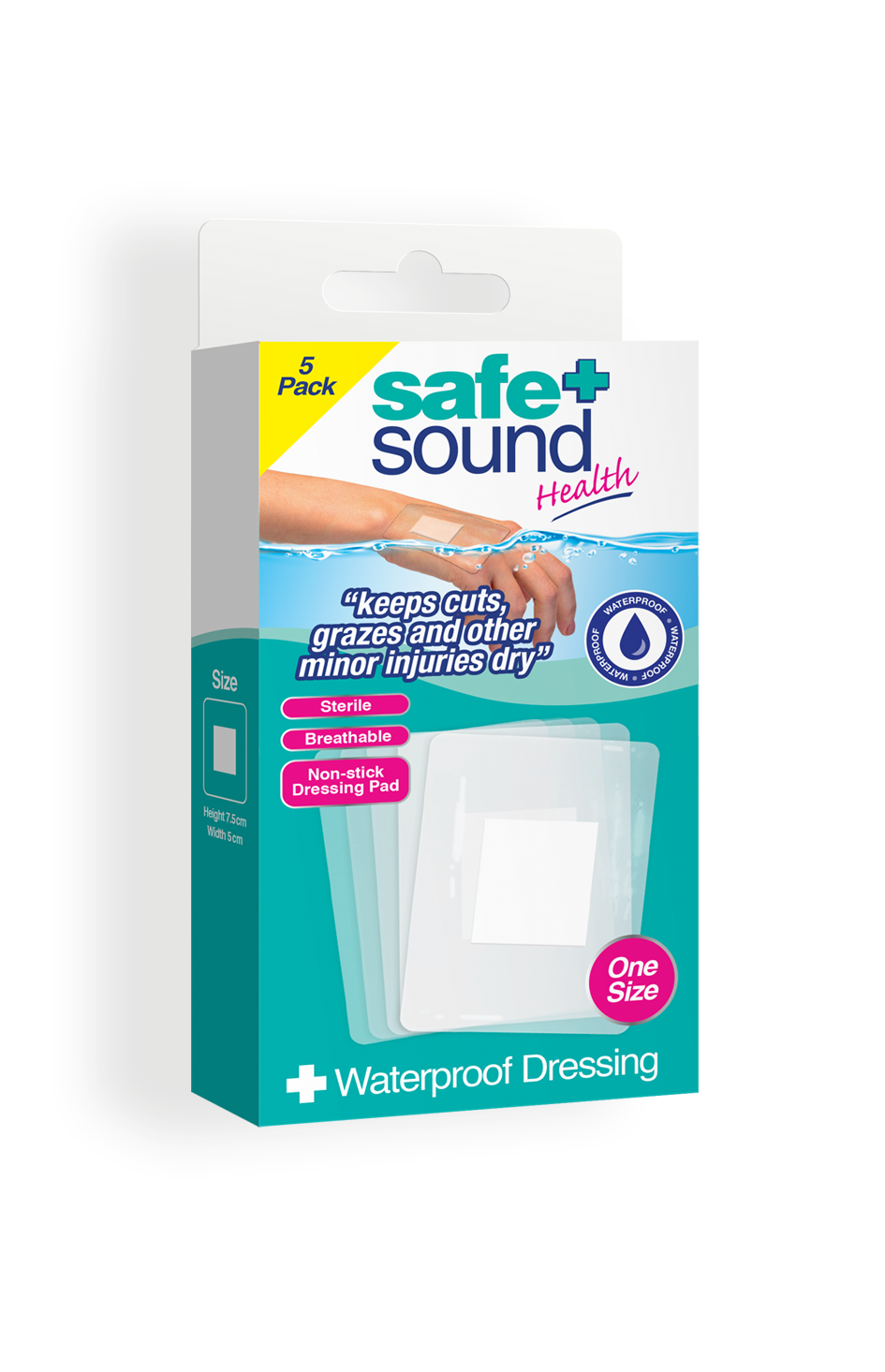 Safe and Sound Health's Waterproof Dressing