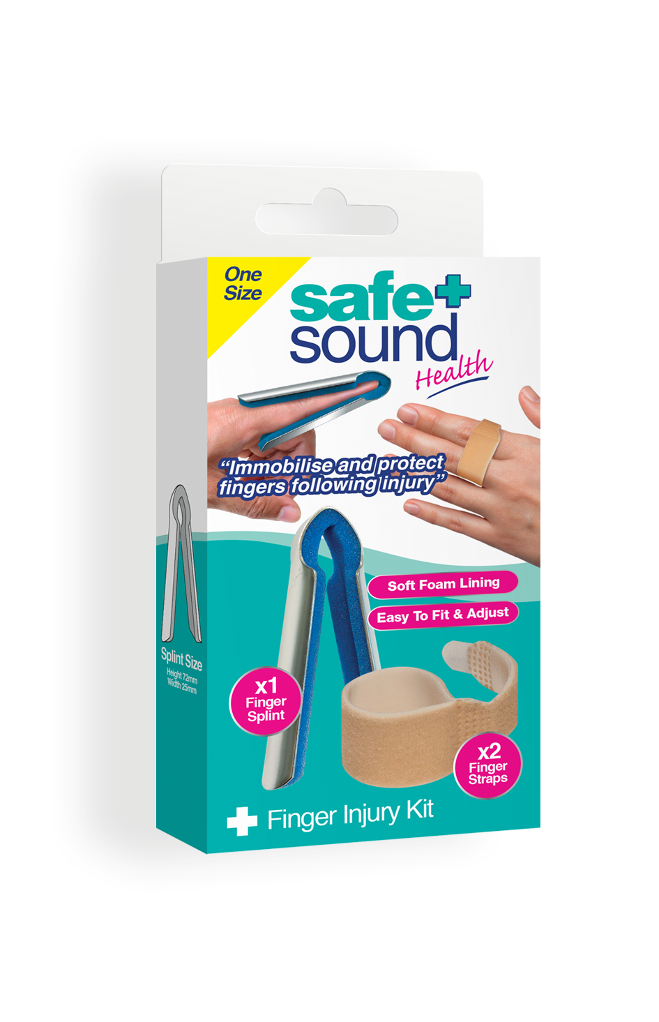 Safe and Sound Health's Finger injury kit