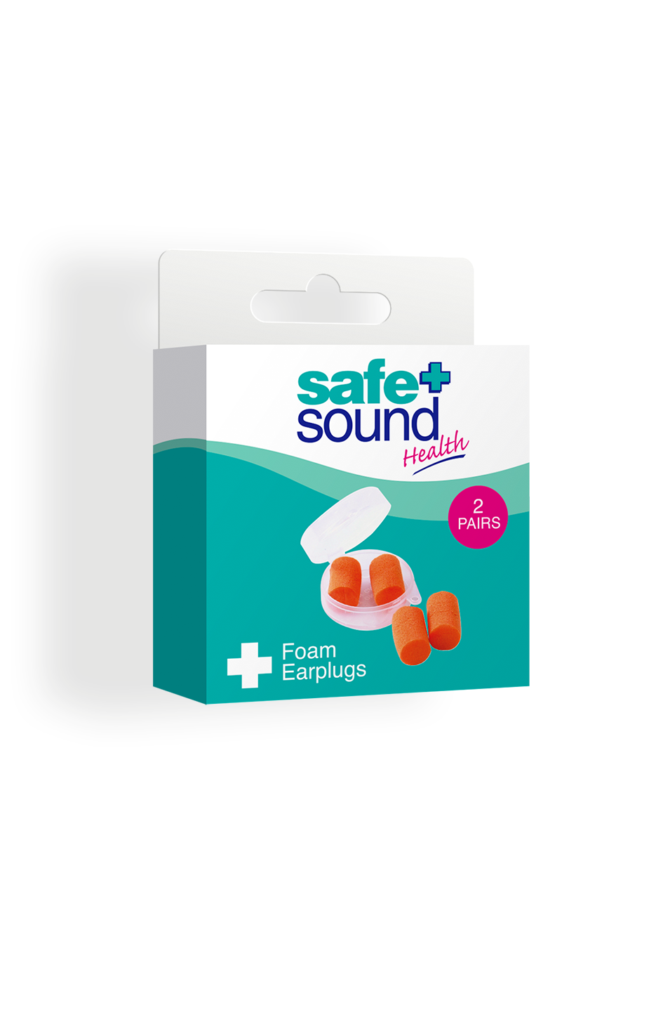 Safe and Sound Health Foam Earplugs